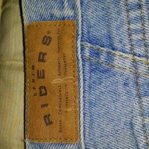 Size, 12 Lee Rider high waist denim jeans.